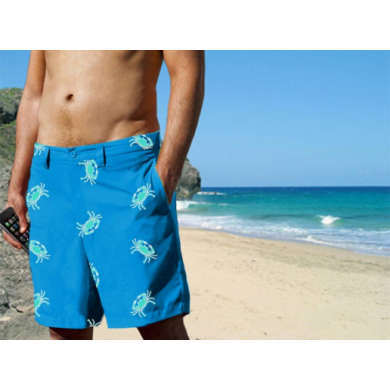 Blaze-In Pebble Crab Shorts