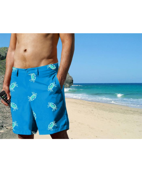 Blaze-In Pebble Crab Shorts